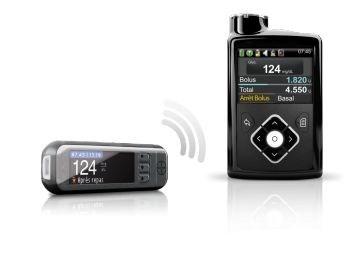 Контур* Плюс Линк 2,4 (Contour* Plus Link 2.4). Беспроводная система (к инс. помпе MiniMed 640G)для измерения уровня глюкозы в крови. - фото 5652