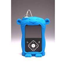 Чехол силиконовый Ленни для помпы MiniMed 640G, синий
