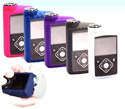 Скин силиконовый для помпы MiniMed 640G, фиолетовый