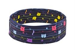 Нейлоновый пояс INSULA KIDS  для ношения инсулиновой помпы (котики) S (55-65 см.)