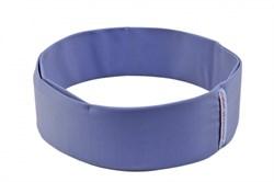 Нейлоновый пояс INSULA для ношения инсулиновой помпы (серо-голубой) S (55-65 см.)